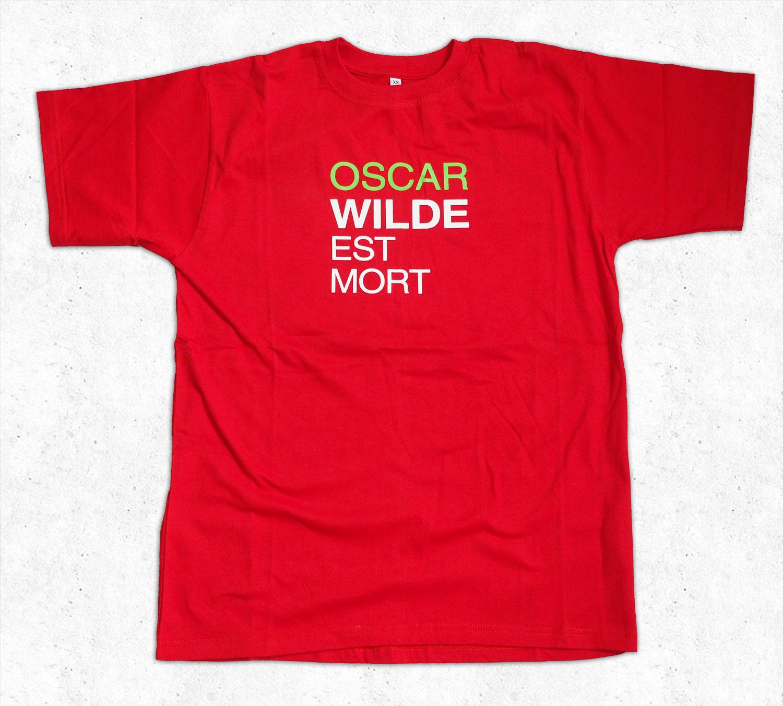 T-shirt Oscar Wilde